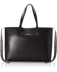 Tommy Hilfiger Iconic Tote - Black