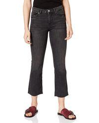 Springfield Jeans Kick Flared Pantalones - Negro