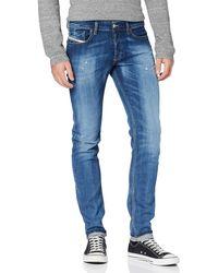 DIESEL Sleenker-x L.32 Trousers Jean Slim - Bleu
