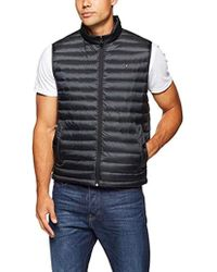 Tommy Hilfiger Core LW Packable Down Vest Manches Homme - Noir
