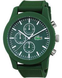 Lacoste Reloj analógico de pulsera para - Verde