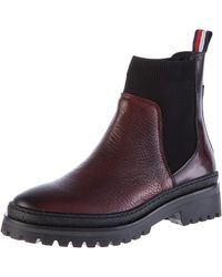 Tommy Hilfiger Corporate Ribbon Chelsea Ankle Boots - Multicolour