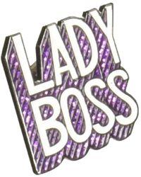 Kipling Lady Boss Handbag Pin - Purple