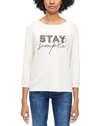 S.oliver - 14.912.39.2779 T-Shirt - Lyst
