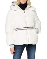 Tommy Hilfiger Ivan Super Down Coat Jacket - White