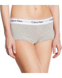 Calvin Klein Underwear MODERN Cotton-Short Panties - Grau