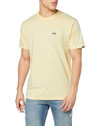 Vans - Men's Left Chest Logo Tee T - Shirt,blue (navy-white Blue Navy),medium (93 - 102 Cm) - Lyst