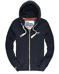 Superdry - Orange Label Ziphood Sweatshirt - Lyst