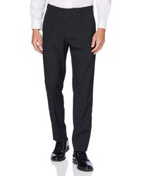 FIND Pantaloni Eleganti Slim - Grigio