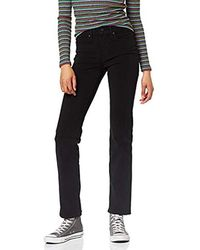 Levi's Shaping Straight Jeans Donna - Nero