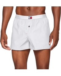 Tommy Hilfiger Woven Boxer - Blanco