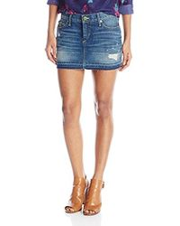 True Religion - Alexia High Thigh Skirt Vintage - Lyst