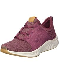 Skechers Sport Skyline Sneaker,burgundy,5.5 M Us - Multicolor