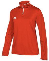 adidas Zip Top - Multi-sport L Collegiate - Red