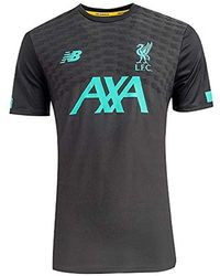 152041c56657a Liverpool Fc Short Sleeve Polyester S Football Phantom Pre Game T-shirt  2019/2020 Lfc Official - Black