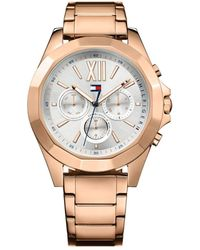 Tommy Hilfiger - S Multi Dial Quartz Watch With Stainless Steel Strap 1781847 - Lyst