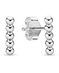 PANDORA Women Sterling Silver Earrings - 298359 - Metallic