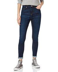 Miss Selfridge Lizzie Long Skinny Jeans, Blue (caramac Blue), W30/l34 (size:12)
