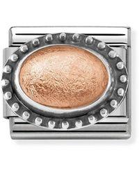Nomination Women Stainless Steel Bead Charm - 330502/03 - Metallic