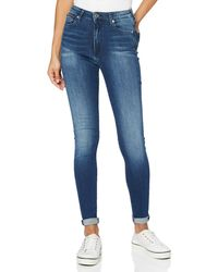 Tommy Hilfiger Sylvia HR Super SKNY NNMBS Jeans - Azul