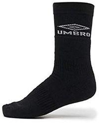 Umbro Damen Socken Classico Tube - Schwarz