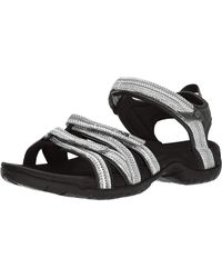 Teva Tirra Open Toe Sandals - Black