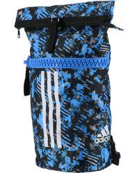 adidas Borsa Sportiva Militare da Combattimento Blu/Argento Camo 37 Litri