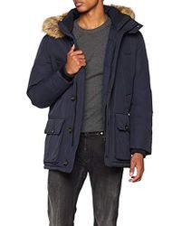 8e86c5a8 Men's Tommy Hilfiger Parka coats Online Sale - Lyst