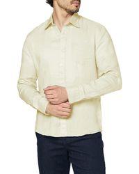 FIND Camisa de Lino de ga Larga - Multicolor