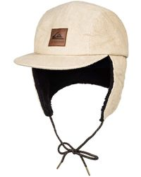 Quiksilver Corduroy Camper Cap with Earflaps for - Mehrfarbig