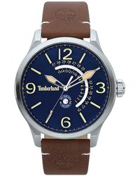 alguna cosa el propósito crisis  Timberland S Analogue Classic Quartz Watch With Leather Strap Tbl.15516js/03  in Blue for Men - Lyst