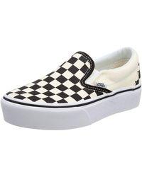Vans - Black/White - Lyst