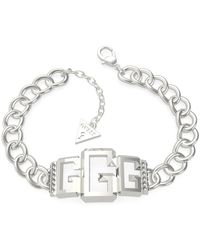 Guess Bracelet JEWELLERY ICONIC GLAM UBB70022-S - Blanc