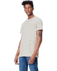 FIND T-Shirt Distressed - Multicolore