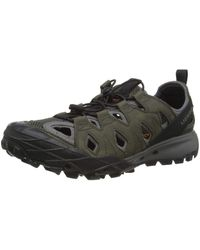 Merrell Choprock Leather Shandal Water Shoes - Multicolour