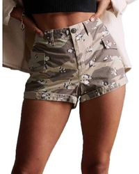 Superdry Pantalones cortos cargo Utility - Multicolor