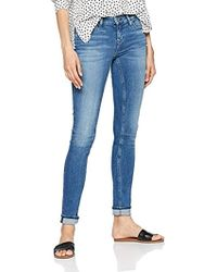 Tommy Hilfiger Mid Rise Nora Skinny Jeans - Blue