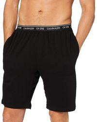 Calvin Klein Sleep Short Pantalones de Pijama - Negro