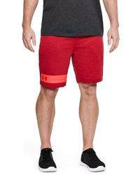 Under Armour Mk-1 Terry Shorts - Red