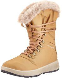 Columbia Slopeside Village Omni-heat Hi' Snow Boot - Natural