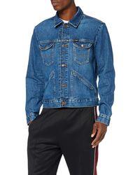 Wrangler Icons Denim Jacket - Blu