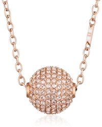 Tommy Hilfiger Mujer Acero Inoxidable Redonda Clear Crystal - Multicolor