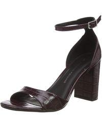 Dorothy Perkins Shilling Block Heel Platform Sandals - Black