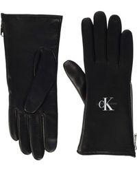 Calvin Klein Gloves LTH Juego de accesorios de invierno - Negro