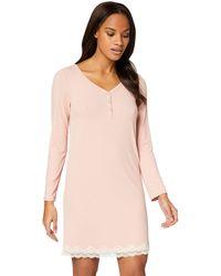 Iris & Lilly Amazon Brand - Women's Nightie, Pink (misty Rose Misty Rose), S, Label:s