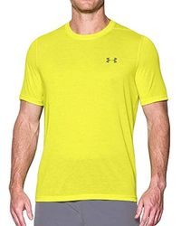 9dc259062f3f4 Under Armour Heatgear Compression T-shirt in White for Men - Lyst