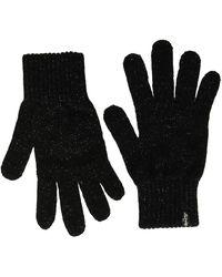 Levi's Lurex NT Gloves Guanti - Nero