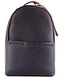 Calvin Klein Flex 2g Round Backpack Schultertasche, 12x40x28 cm - Blau