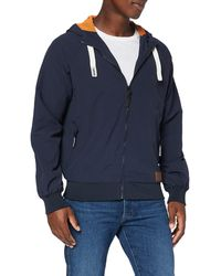 HIKARO Amazon-Marke: Jacke mit Mesh - Blau