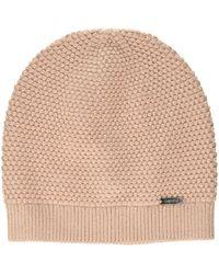 Calvin Klein Triple Knit Beanie Bonnet - Rose